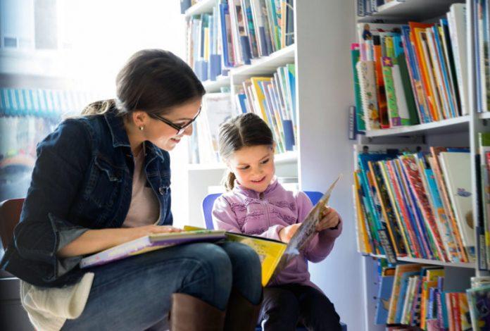 Anak rajin membaca