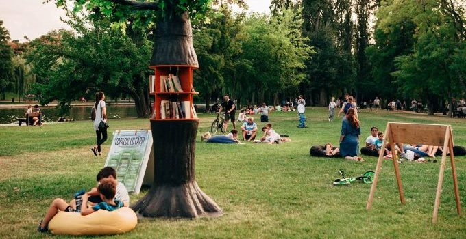 Belajar di taman