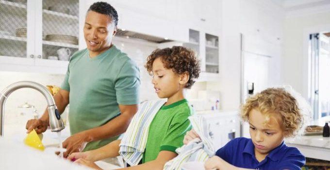 Beres rumah bersama anak