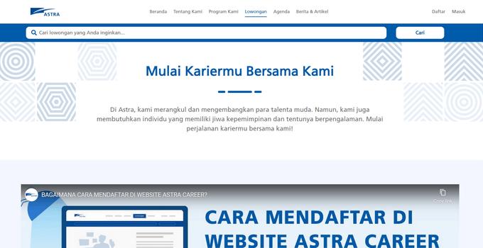 Dapatkan Pekerjaan yang Anda Inginkan dengan Mengunjungi Situs Perusahaan Incaran Anda